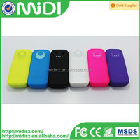 high performance portable mobile charger 5000mah smart power bank with CE,Rohs approval