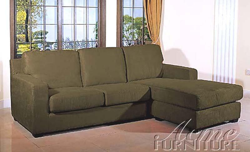Cheap Small Sectional Sofa Microfiber Sage
