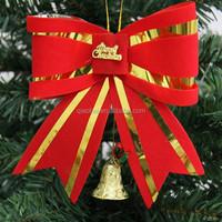 Christmas tree ornaments bowknot