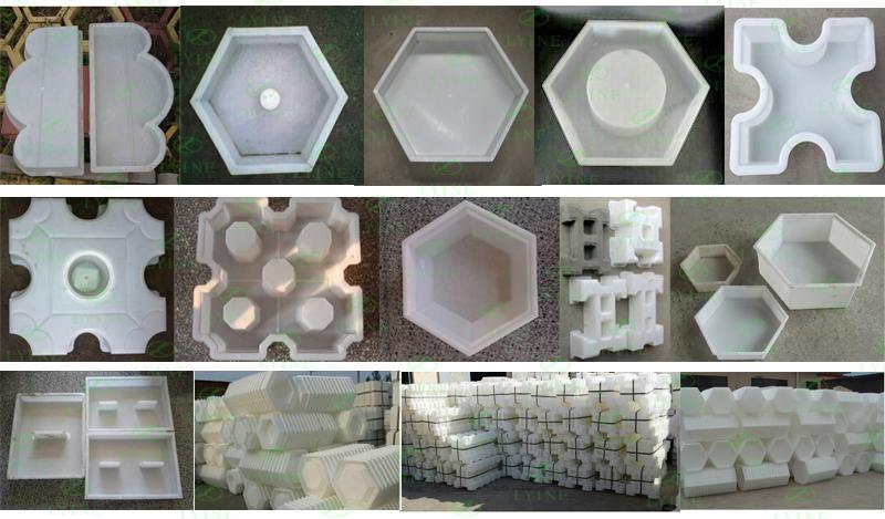 Concrete Mold Plastic Paving Patterns Manual Concrete