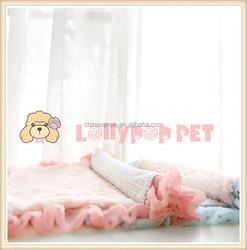 Luxury Double face cony hair dog blanket cozy dog blanket warm air blanket thick warm dog blanket
