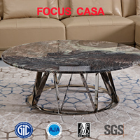 new furniture marble and granite top coffee table