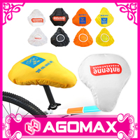 Customized printed bike seat rain cover bicycle saddle covers