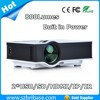 Newest UC40 Mini Pico portable proyector Projector AV VGA A/V USB & SD with VGA HDMI 12v video projector of 12000 lumens