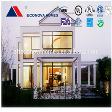 2015 American standard modern prefabricated house shed wood