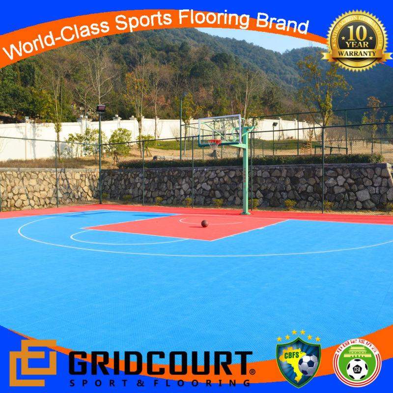 2014 Gridcourt university basketball floor