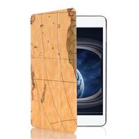 Best Price Unique World Map Pattern Tri-fold Flip Leather Smart Case for iPad mini 4