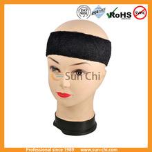 dual purpose headband with sport print