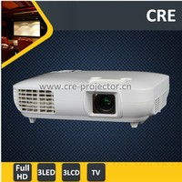 CRE X2000-VX Resolution 1920X1080 Native Full HD 1080p 3d led projector