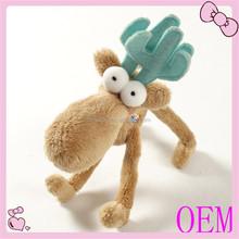 OEM Soft Baby Plush Bambi Stuffed Deer Toy For Kids
