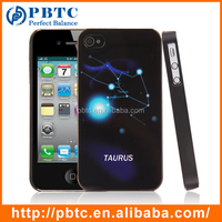 Hard Case For Iphone 4 / 4S , Taurus Hard Plastic Phone Cover Case