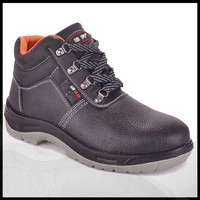 Oil Resistance Genuine Leather Iron Steel Toe Safety Shoes Germany