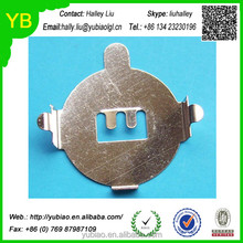 Custom battery button nickel plated steel battery button