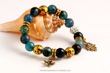 New Design Fashion Murano Coral Beads Bracelets for Women Girls