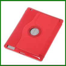 360 rotating leather case for ipad 234