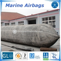 High pressure ship launching airbags, pneumatic rubber balloon