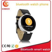unlocked smart watch mobile phone with mtk2502 and Anti-lost and Looking phone function