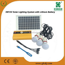 solar home systems with lithium battery solar energy system for home use