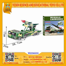 2015 Best Sell DIY Toys Missile Launcher 3D Puzzle