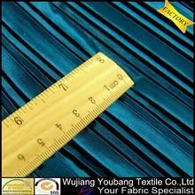 la fabricación de satén arrugado de tela decorativa