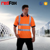 high visibility reflective tapes mens polo shirt
