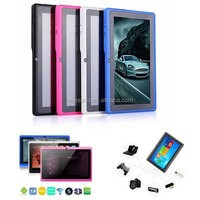 "7"" allwinner a33 q88 tablet pc android 4.0 1.2ghz ram ddr3 512mb rom 4gb free sample tablet pc"