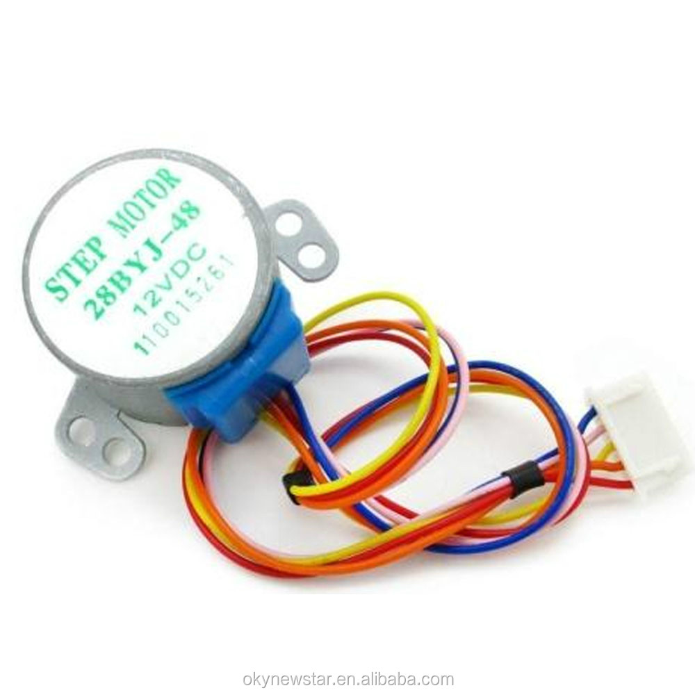 Gear Stepper Motor DC 5V 4-Phase 5-Wire Micro Mini electric motor with reduction gear