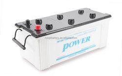 Good starting power 12V dry car battery rechargeable 150ah hybrid car battery sale