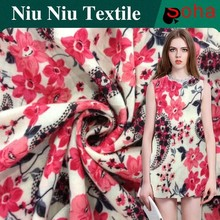 2015 Hot 100% Rayon Factories rayon Spun Fabric