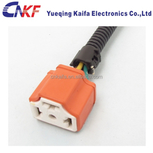 Ceramic H4 3 Ways Automotive Connector of HID Wire Harness cable assembly