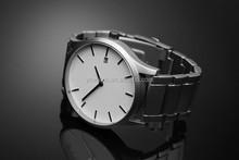 YB 2015 hot sale high end quality steel simple vintage bracelet watch