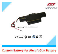9.6V 3300mAh airsoft gun lipo battery lithium polymer cells Airsoft Gun battery