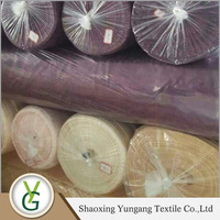 Ready made fabric supplier Factory Wholesale Stock lot polyester jacquard fabric