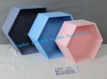 LYA15-148 three color wooden furniture---- box nest