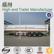CNG semi trailer for sale from top brand trailer manufacture Shengrun/cng trailer