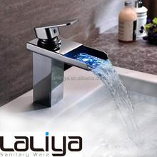 2015 new LED modern bathroom water faucet basin mixer taps
