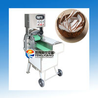 FC-305 Electric Automatic Coconut Cutting Slicing Dicing Machine, Coconut Chips Machine (#304 stainless steel)......Nice!!!!
