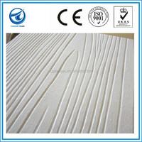 Fashionable design wood grain fiber cement board,fibre cement wall panel,wood wool insulation board