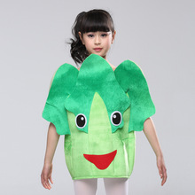 New cartoon children's fruit and vegetable sixty-one drama game performance clothing stage cabbage clothes