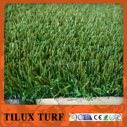 Non-Infilling Soccer Field Artificial Grass Turf with Curly Grass