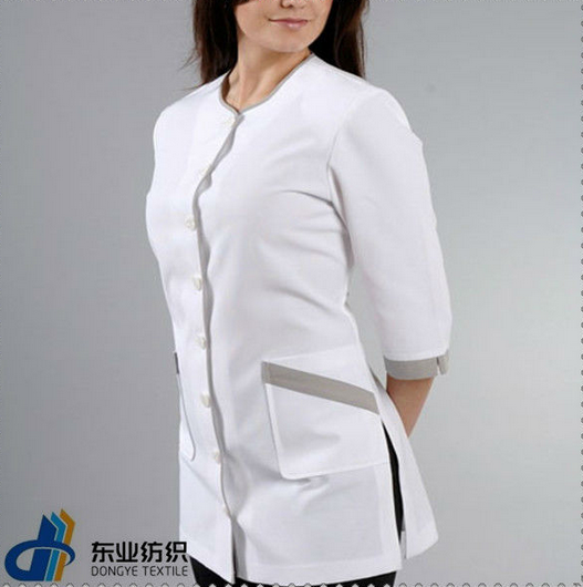 Salon wear uniform spa tunic buy salon uniform uniform for Spa uniform indonesia