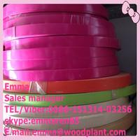 Bajiang pvc t molding profiles plastic t edge banding for sell