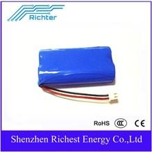 Battery for electric bicycle manufacturer battery 3.7v 4.2V 7.4V 1500mah