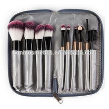 10 pc cosmética profesional maquillaje pinceles de maquillaje set