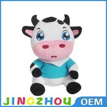 2015 Cute Design Super Plush And Stuffed Toys Cow