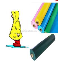 Soft PVC Colorful Film for Making raincoats