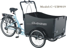 Bakfiets pedal adult front cargo tricycle/Cargo Cycle Truck 3 Speed