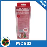 Customize size soft pvc plastic box