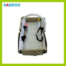 China new product baby cot bag, recycle foldable baby carrier bed for 2015