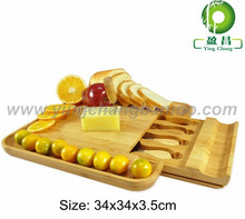 bamboo cheese board cheese cutting boards cutting board with knife